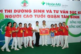 Hội thi dưỡng sinh và tư vấn sức khỏe cho 1000 người cao tuổi