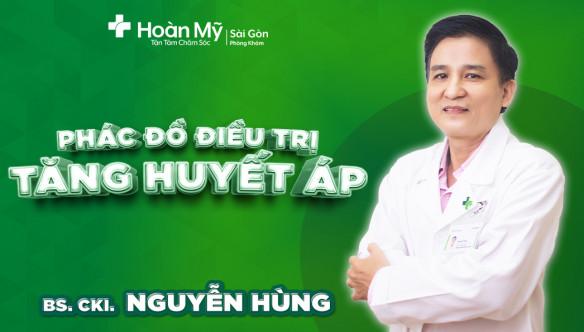 """Phác đồ điều trị bệnh """"TĂNG HUYẾT ÁP"""" tại Phòng khám Hoàn Mỹ Sài Gòn"""