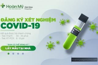 Dịch vụ Lấy mẫu Xét Nghiệm Virus SARS-CoV-2 (COVID-19) tại nhà