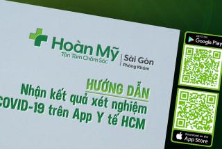 """HƯỚNG DẪN: Xem Kết Quả Xét Nghiệm Covid19 thông qua App """"Y Tế HCM"""""""